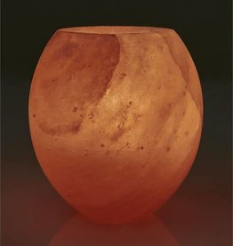 Rock Salt Candle Holder-Sphere