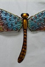 Lacy Metal Wall Dragonfly