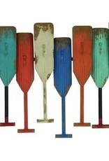 Metal Oars with Hooks