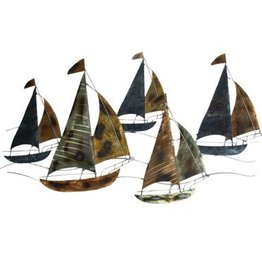 Sailing Regatta Wall Décor