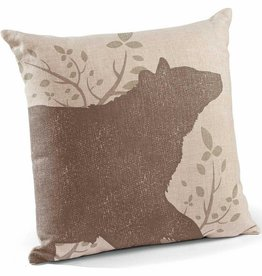 Decorative Pillow - Black Bear