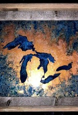 Great Lakes Copper Art - 8 x 10