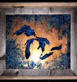 2) Great Lakes 8x10