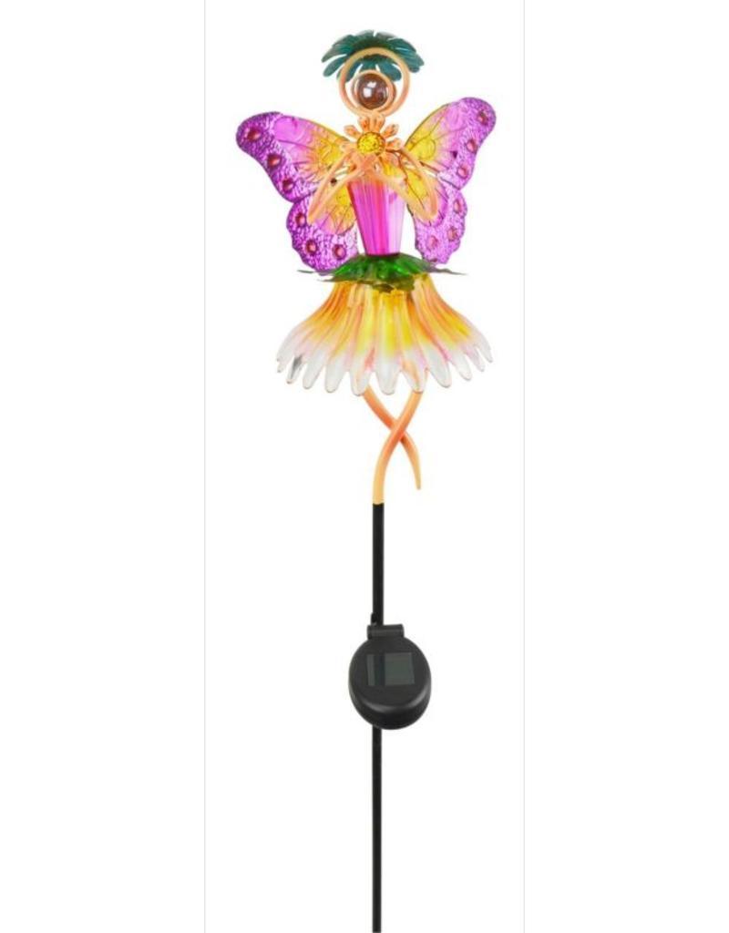 Garden Fairy - Solar (Orange)