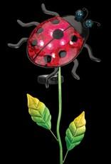 Solar Filigree Stake - Ladybug