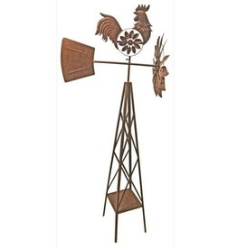 Rooster Windmill