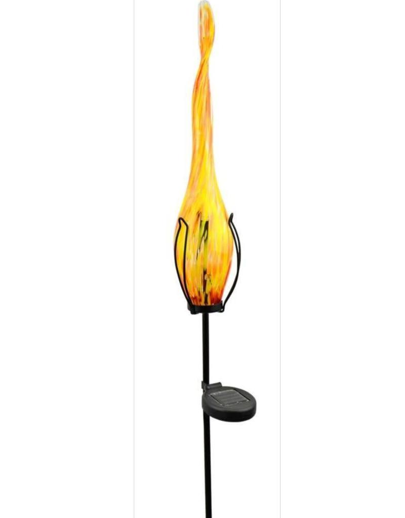 Solar Flame - Yellow with Red Spots