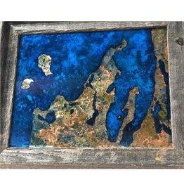 Leelanau Copper Art -Patina 11x14