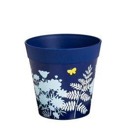 Planter Pot - Blue Fern