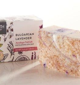 Himalayan Pink Salt & Bulgarian Lavender Handmade Soap
