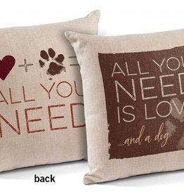 Pillow - Love Dog