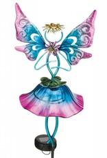 Solar Fairy Stake - Blue