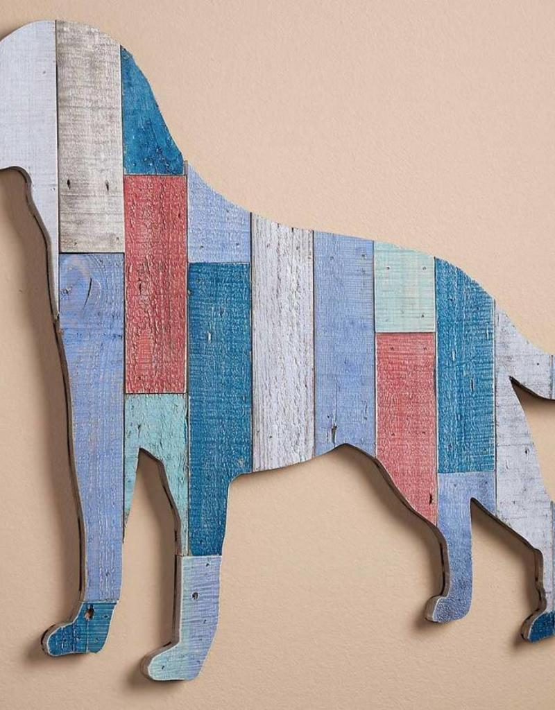 Labrador Slat Wood Wall Decor