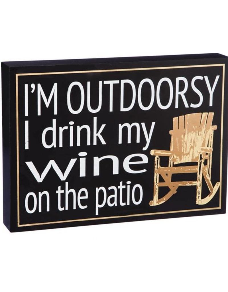 I'm Outdoorsy - Wood Plock