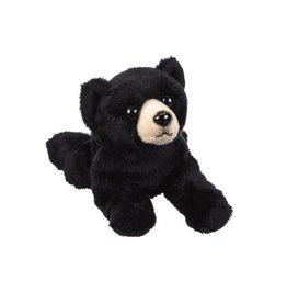 "Black Bear Stuffed Animal - 8"""