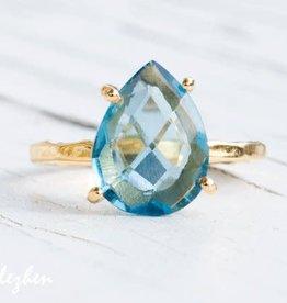 Ring - Blue Topaz/Silver