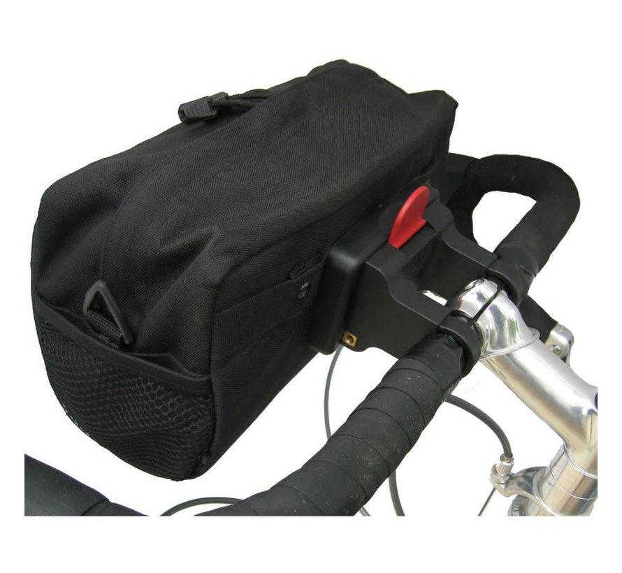 Banjo Brothers QR Handlebar Bag: Black