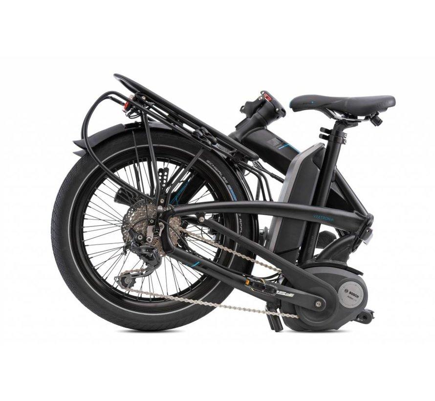 Tern Vektron S10 Electric Folding Bike Matte Black/Grey