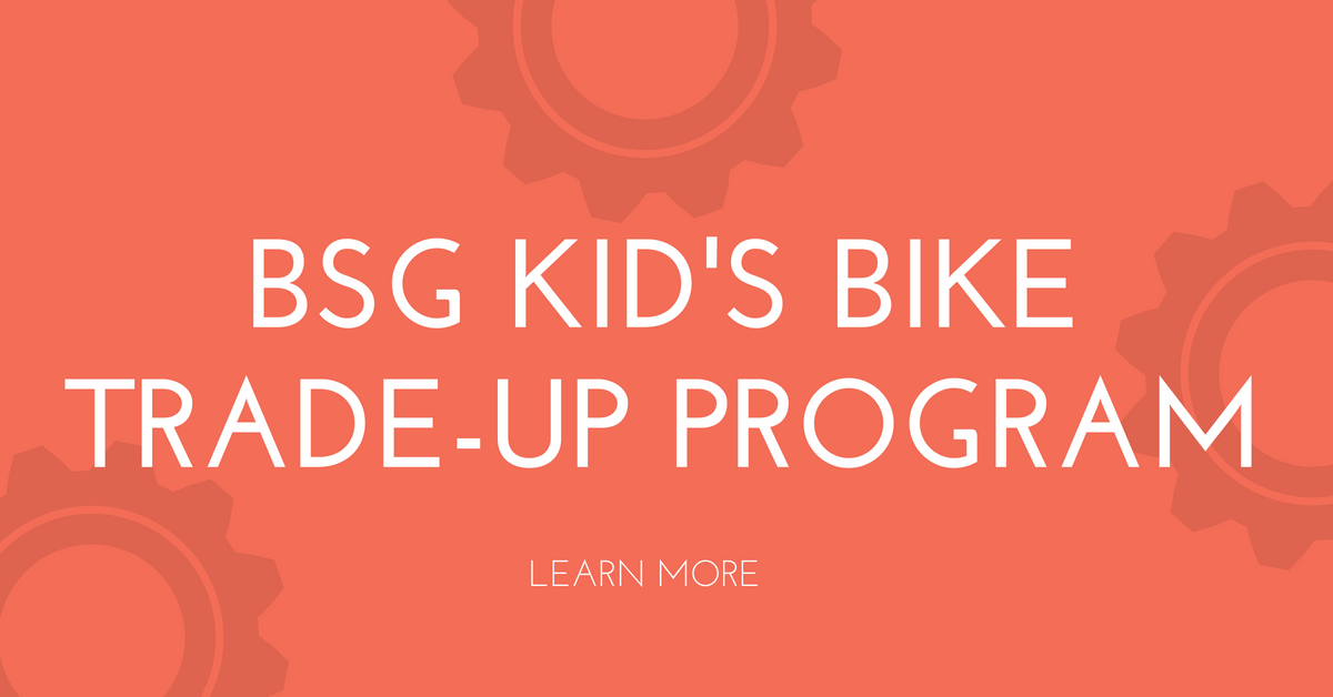 Kid's Bike Trade-Up Program Details