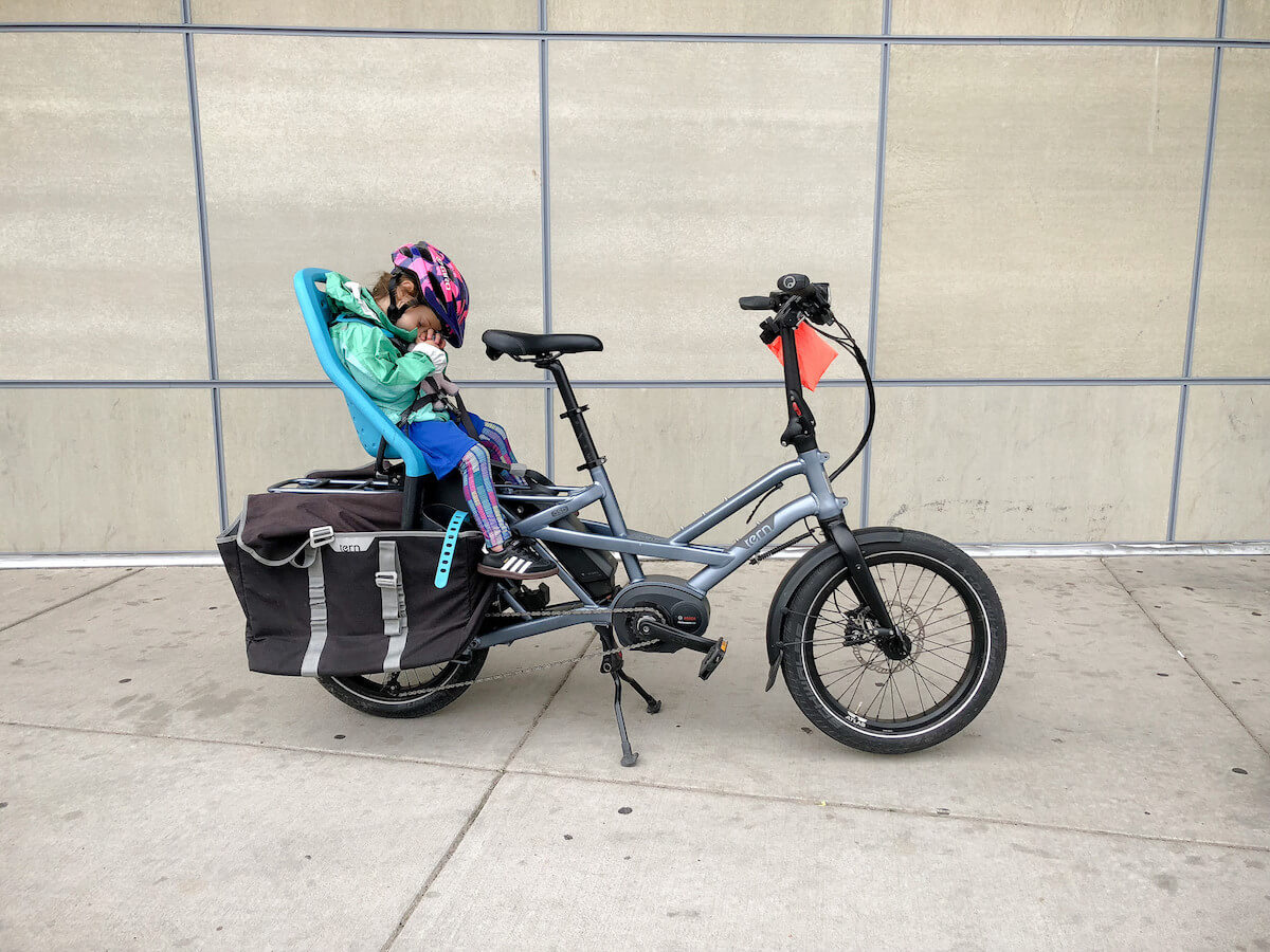 tern gsd electric cargo bike review bike shop girl. Black Bedroom Furniture Sets. Home Design Ideas