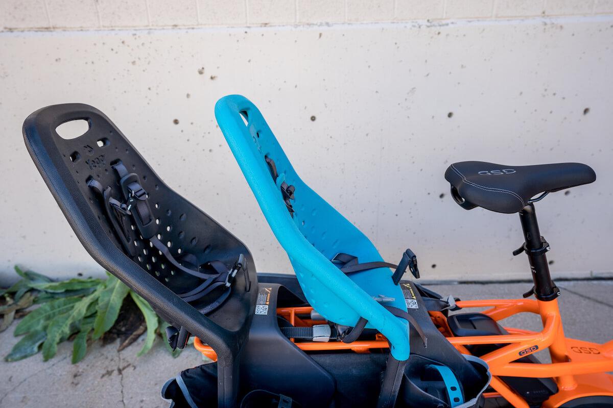 Tern GSD Cargo Bike with Two Yepp Seats