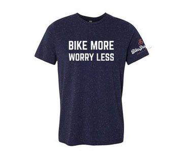BSG Bike More Worry Less T-Shirt - Men's