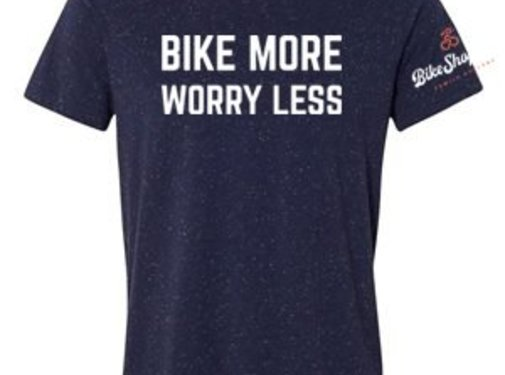 BSG Bike More Worry Less T-Shirt - Men's
