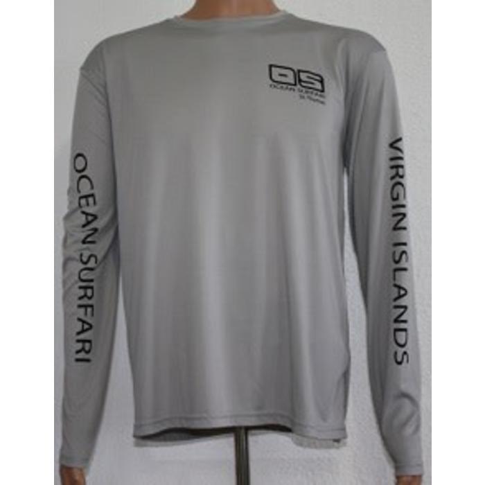 Vapor Men's Dry-Fit Long Sleeve Athletic Grey