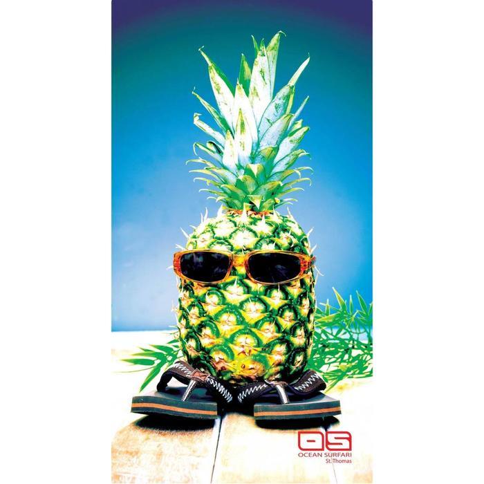 Ocean Surfari Beach Towel Pineapple