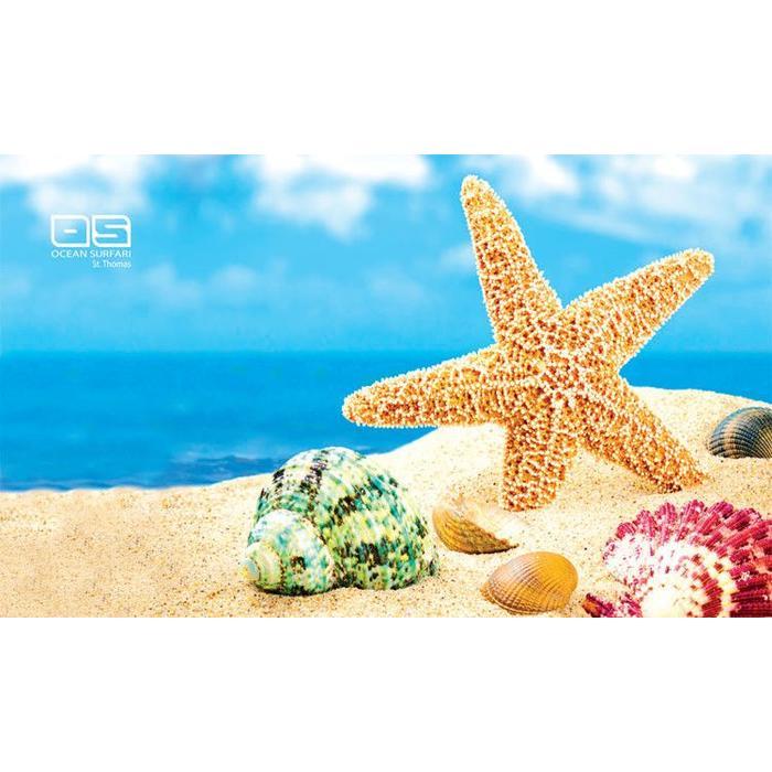 Ocean Surfari Beach Towel Starfish