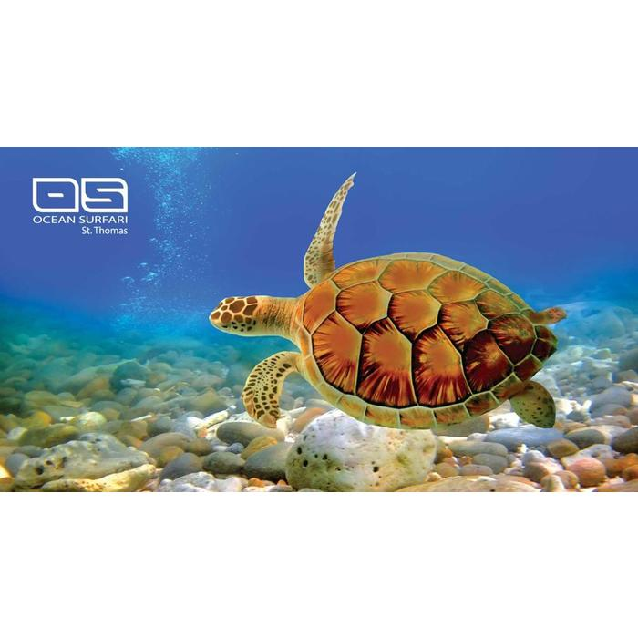 Ocean Surfari Beach Towel Turtle