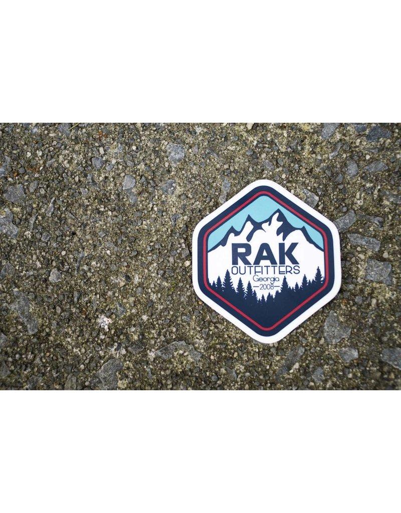 RAK Outfitters RAK Sticker Mountains