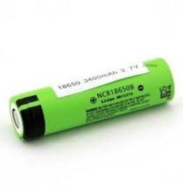 Panasonic NRCB Battery   18650, 3400mAh, 3.7V   Flat Top