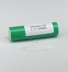 Samsung 22F Battery   18650, 2200mAh, 3.7V   Flat Top NON SUB OHM