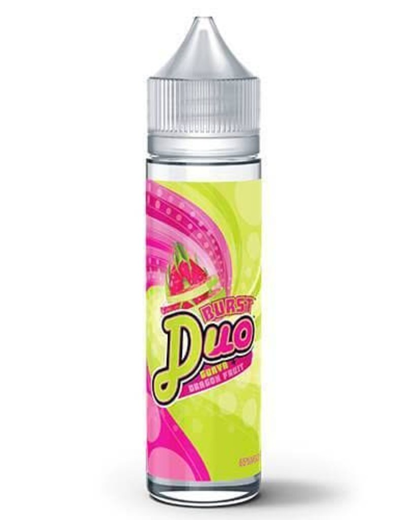 Burst Duo E-Liquid   60ml   Guava Dragon Fruit