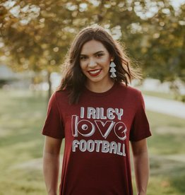 Opolis Riley Love Football T-Shirt