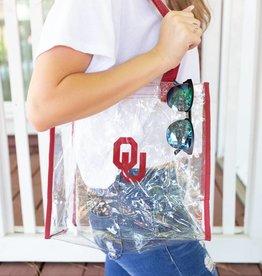 OU Clear Tote Bag