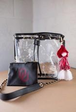 Ella Black Bucket Bag