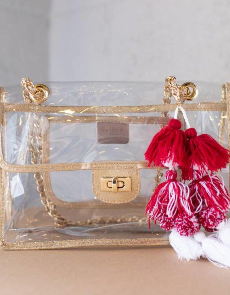 Viviana Side Gold Bag