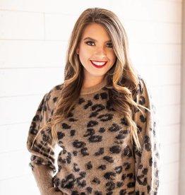 Leopard DB Sweater