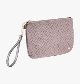 Stephanie Johnson Milan D. Plum Large Flat Wristlet by Stephanie Johnson