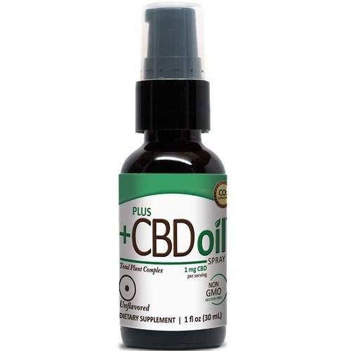PLUS CBD PlusCBD Spray, Unflavored, 1oz
