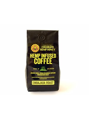 COLORADO HEMP HONEY Colorado Hemp Honey, Coffee 10oz