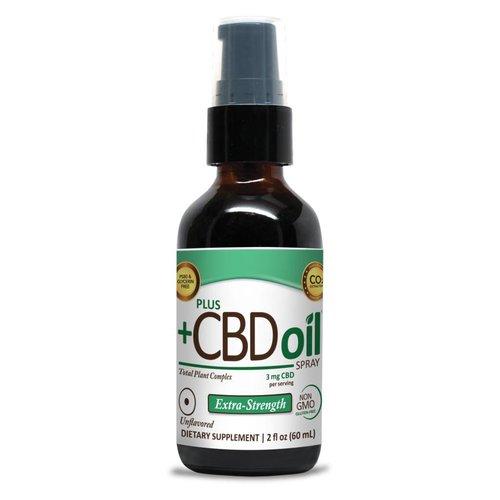 PLUS CBD PlusCBD Spray, Extra Strength, Unflavored, 2oz