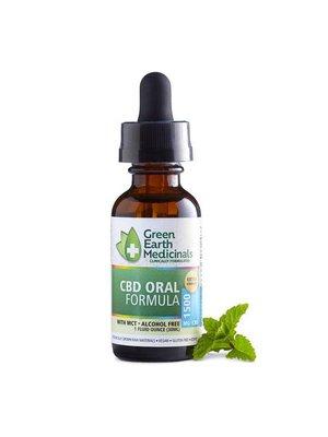 GREEN EARTH MEDICINALS Green Earth Medicinals Oral Formula Extra Strength, 1oz