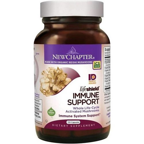 NEW CHAPTER New Chapter LifeShield Immune Support 120vc