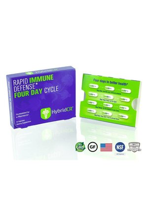 HYBRID CR Hybrid Defense HybridCR Rapid Immune Defense, 12cp