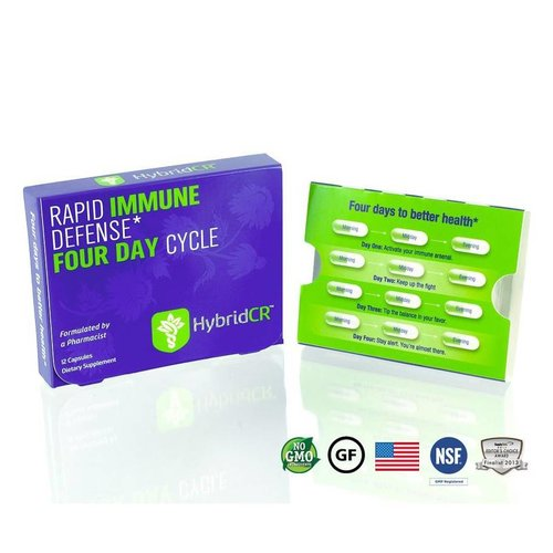 HYBRID CR Hybrid Defense HybridCR Rapid Immune Defense, 12cp
