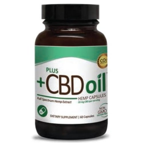 PLUS CBD PlusCBD Oil Capsules, 10mg, 60ct