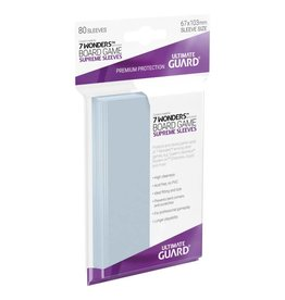 Ultimate Guard Ultimate Guard Sleeves  7 Wonders 80ct